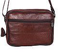 Мужская кожаная сумка BON2355 коричневая, фото 3