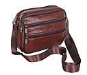 Мужская кожаная сумка BON2355 коричневая, фото 5