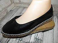 Стильные туфли еспадрили из Германии 38р ст.24,5см D3