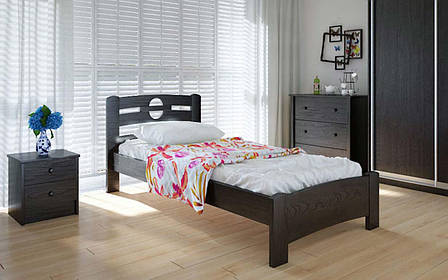 Деревянная кровать Кантри 90х190 см ТМ Meblikoff, фото 2