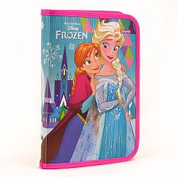 "Папка для зошитів пласт. на блискавці В5 ""Frozen"""