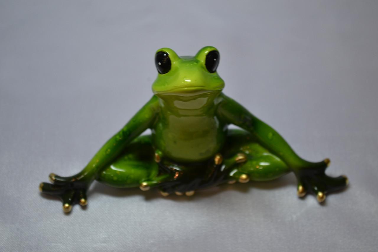 Лягушка. Медитирующая
