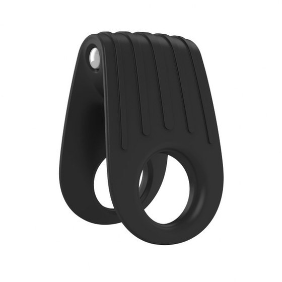Вибрирующее эрекционное кольцо OVO B12 Vibrating Ring Black