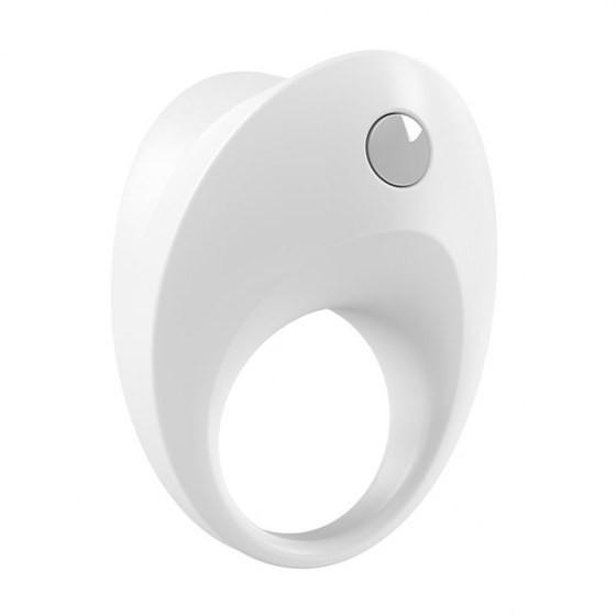 Вибрирующее кольцо OVO B10 Vibrating Ring White