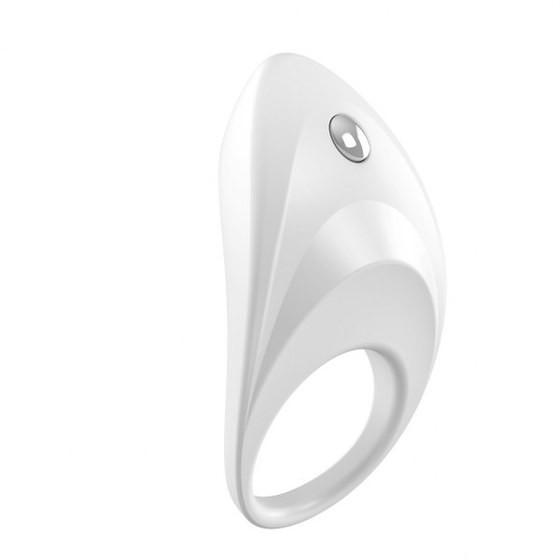 Вибрирующее кольцо OVO B7 Vibrating Ring White