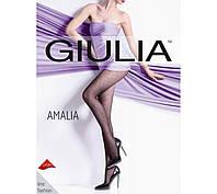 Колготки GIULIA Amalia 20 den, model 1 4 (L) NERO (черный)