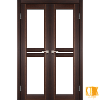 """Межкомнатная дверь коллекции """"Milano"""" ML-09 (орех)"""