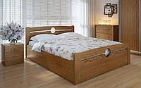 Деревянная кровать Авила с механизмом 90х190 см. Meblikoff
