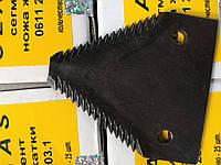 Сегмент ножа жатки CLAAS, 0611 203.1