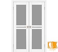 """Межкомнатная дверь коллекции """"Milano"""" ML-09 (ясен белый)"""
