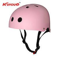 Спорт шлем Kuyou B003 Pink Детский лыжный универсальный горный ультралёгкий