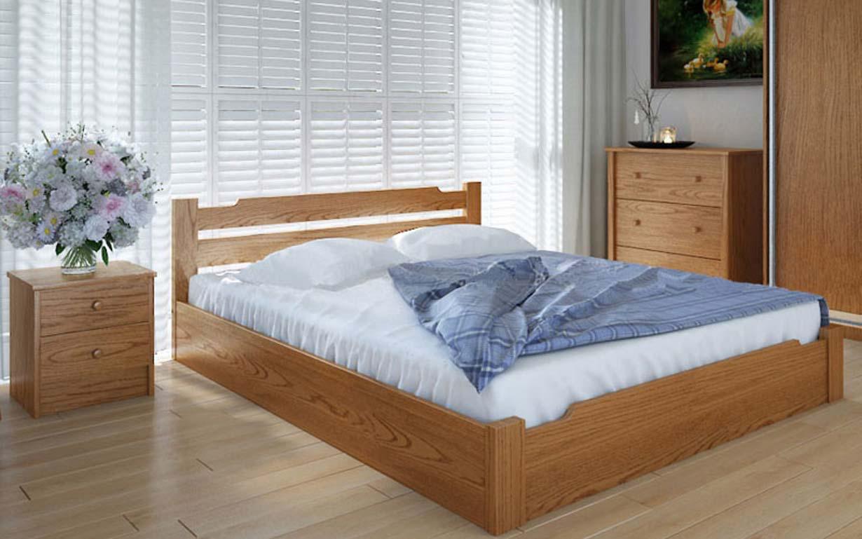 Деревянная кровать Сакура с механизмом 90х190 см ТМ Meblikoff