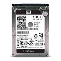 Жесткий диск 2.5' 1Tb Western Digital Black, SATA3, 32Mb, 7200 rpm (WD10JPLX)