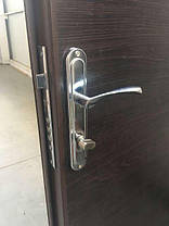 Металлические наружные входные двери метал/ДСП на улицу, фото 3