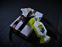 Натуральное мыло с картинкой Миньоны.