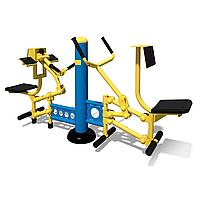 Тренажер для мышц бицепса - Рычажная тяга