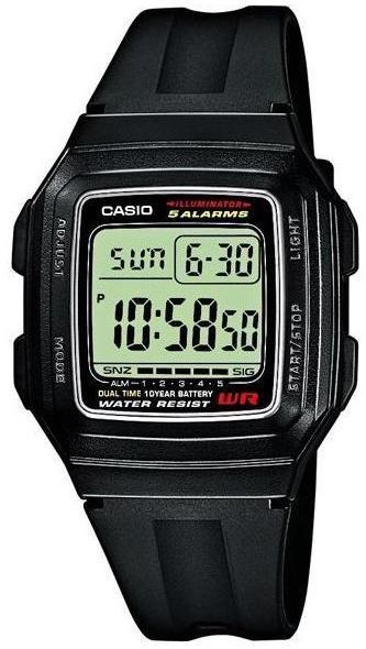 Часы Casio F-201WA-1AEF (мод.№2519, 3238)