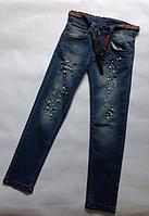 Брюки джинс для девочек ALTUN от 6 до 10 лет