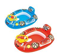 Детский надувной плотик для плавания «Патрульная машина»   «Bestway»