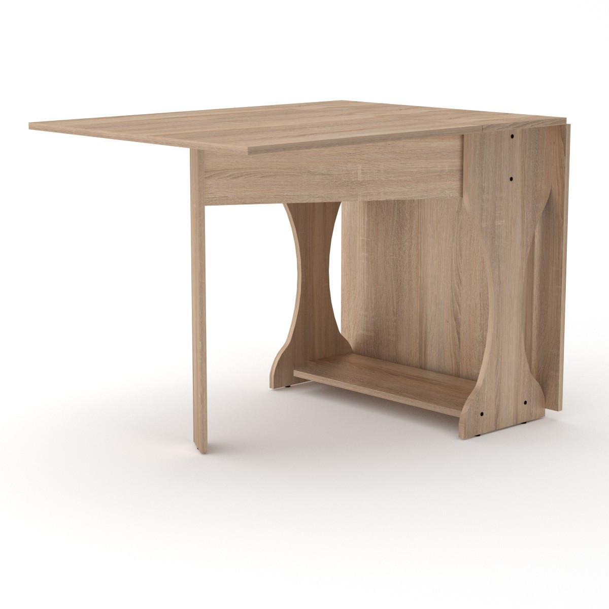 Стол книжка 4 дуб сонома Компанит (170х76х74 см)