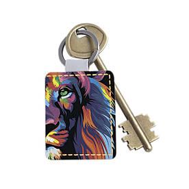 Брелок 1.0 Fisher Gifts 15 Цветной лев (эко-кожа)
