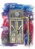"""Почтовая открытка """"Двери"""""""