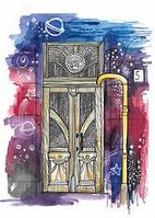 """Почтовая открытка """"Двери"""", фото 1"""