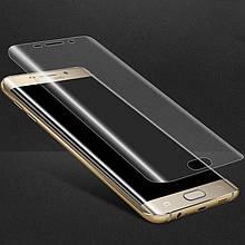 Защитное стекло 3D для телефона Samsung S7 Edge (G935) Прозрачный