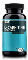 L-Carnitine 500 Tabs Optimum Nutrition 60 tabs
