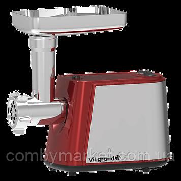 Мясорубка электрическая VILGRAND V228-СSMG RED