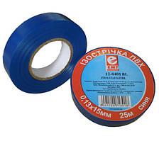Изолента электротехническая 0,13мм.х15мм. 25м синяя, EMT