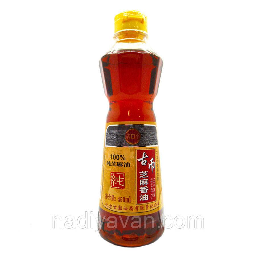 Кунжутное масло 450 мл Gubi