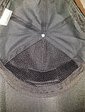 Кепка-бейсболка черная, фото 6