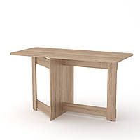 Стол книжка 6 дуб сонома Компанит (128х50х72 см), фото 1