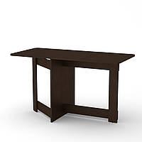Стол книжка 6 венге темный Компанит (128х60х72 см), фото 1