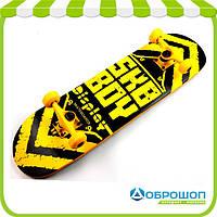 Скейтборд Display Wood SK-1103 Желтый