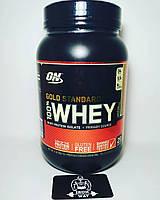 Optimum Nutrition 100% Whey Gold Standard 908 g (Двойной шоколад)