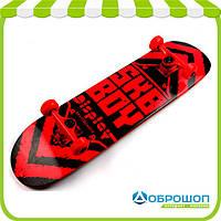 Скейтборд Display Wood SK-1103 Красный