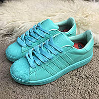 Мужские Кроссовки Adidas SuperStar Pharell Williams Breeze