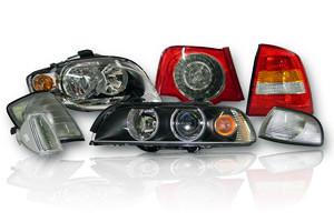 Оптика (фары, фонари, поворотники, туманки, лампочки, блоки розжига)