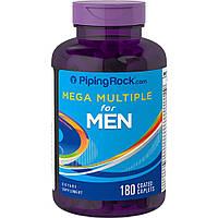 Piping Rock Mega Multiple for Men 180 Caplets