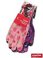 Перчатки защитные выполненные из нейлона.