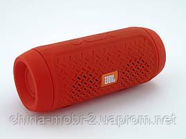 JBL Charge 2+ mini E2+ J016 3W копия, портативная колонка Bluetooth FM MP3, красная, фото 3