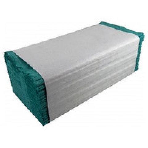 Полотенца бумажные V ( зеленые) 160 шт