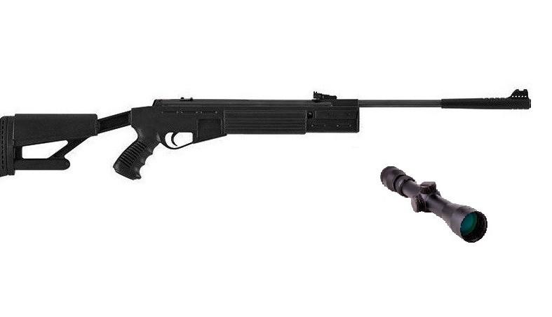 Hatsan Striker AR с усиленной газовой пружиной 3-9×32 Sniper AR