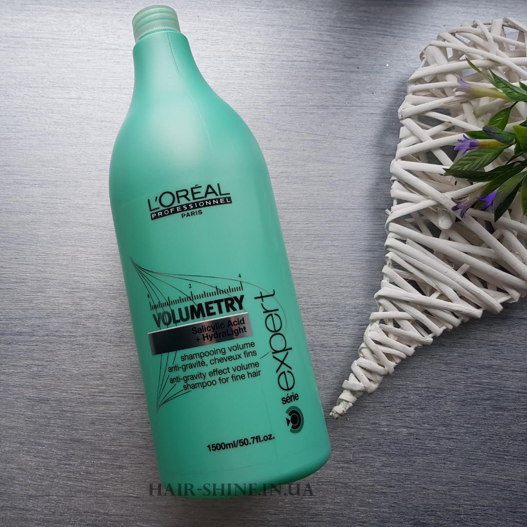 Шампунь для объема тонких волос-L'Oreal Professionnel Volumetry Shampoo 1500ml