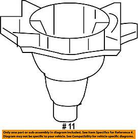 Гайка (звездочка) крепления запасного колеса (запаски) GM 1718346 13305591 OPEL INSIGNIA