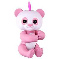 Интерактивная игрушка Fingertip Happy Finger Panda Умная интерактивная игрушка, 6 функций Розовый (SUN0174)