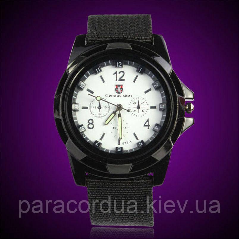 Мужские кварцевые часы  Белые, Gemius ARMY