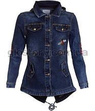Стильная джинсовая куртка для девочки